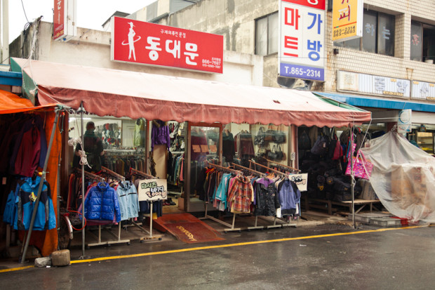 동대문, Dongdaemun is open every day from 10 a.m. to 8 p.m. (Michael Thayer/ The Sejong Dish)