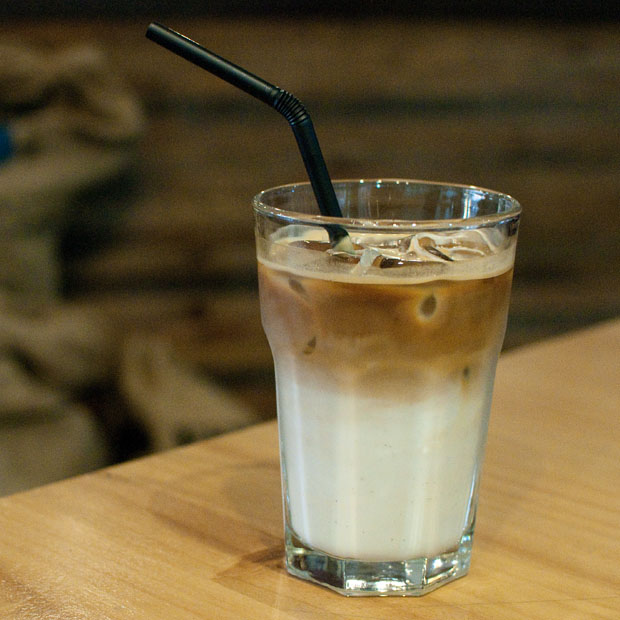 The Dish would recommend the Condensed Milk Latte, which is served hot or iced. (Salgu Wissmath/ The Sejong Dish)