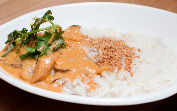 The Thai Red Curry at Mekong Thai.(Salgu Wissmath/ The Sejong Dish)